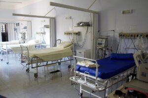 hospital, bed, doctor