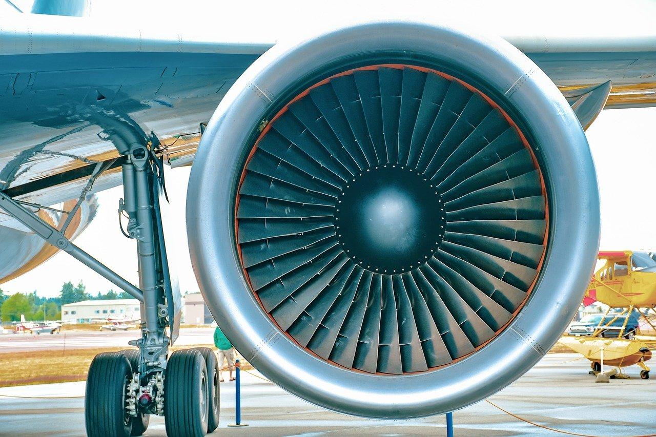 jet engine, aviation, his