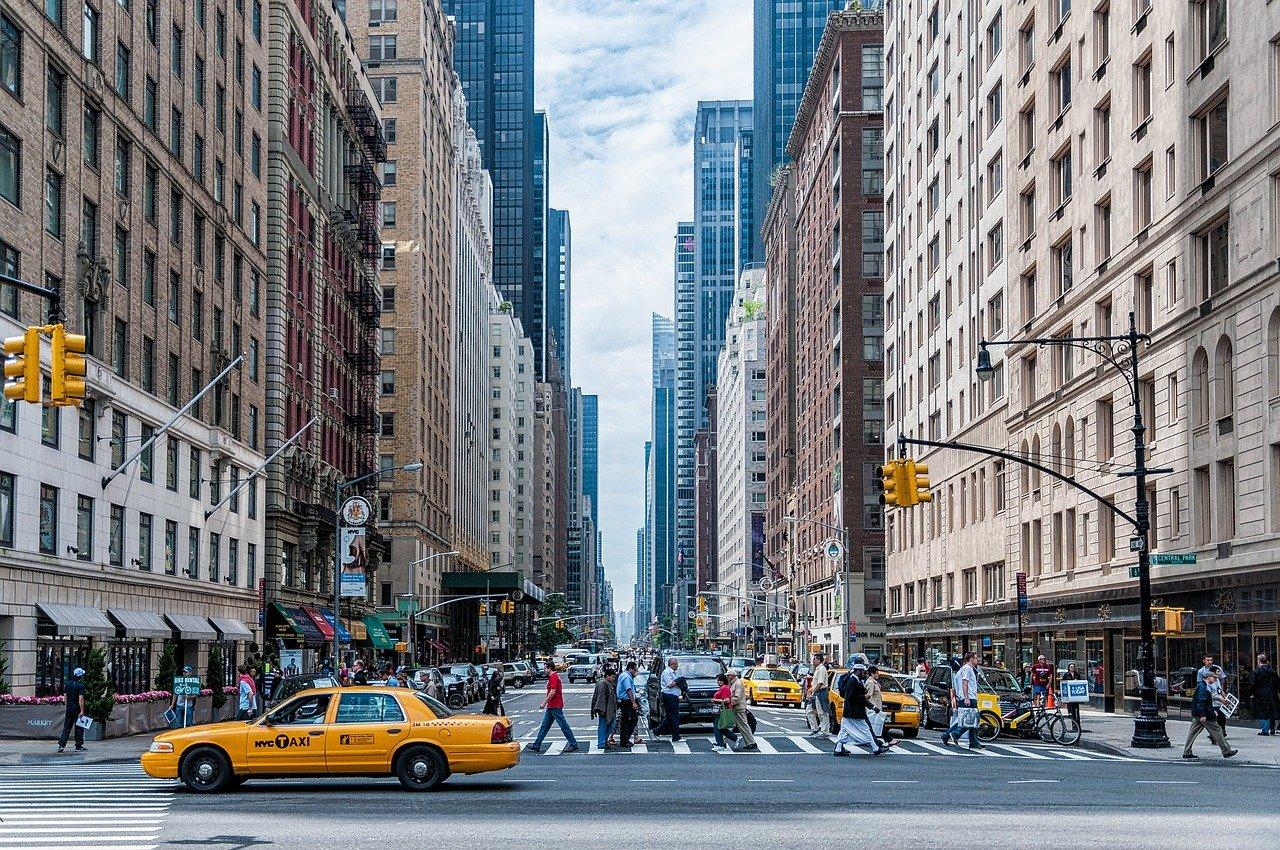 pedestrians, crossing, traffic