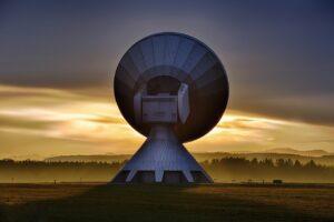 raisting satellite, reception, signal