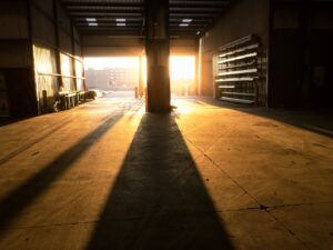 warehouse, bay, storehouse